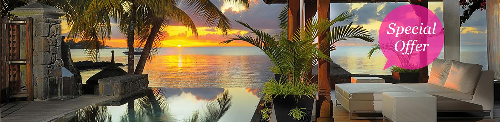 入住皇家棕榈毛里求斯酒店享八折优惠